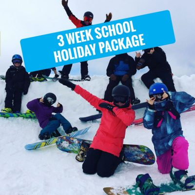 hotham 3 week school holiday snowboarding