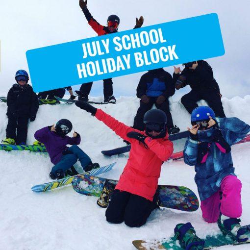 july school holiday snowboarding hotham
